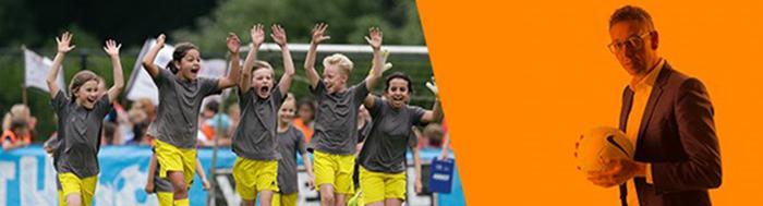 Lukt het de volwassenen om de kinderen zonder druk te laten voetballen?