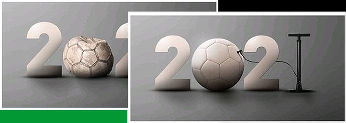 Het bestuur wenst alle leden en sponsoren een gelukkig, gezond en voetbalrijk 2021!